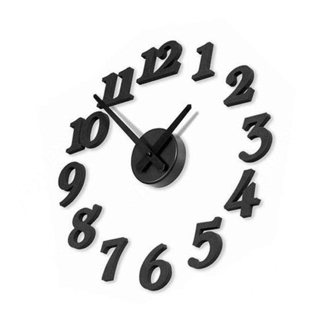 Часы Наклейка С цифрами