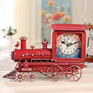 Винтажные часы Ретро-поезд