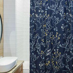 Штора для ванной Лесные кружева