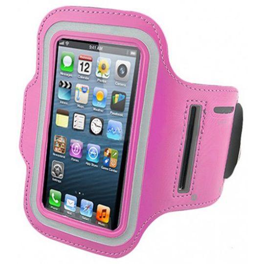 Спортивный чехол для iPhone (Розовый)