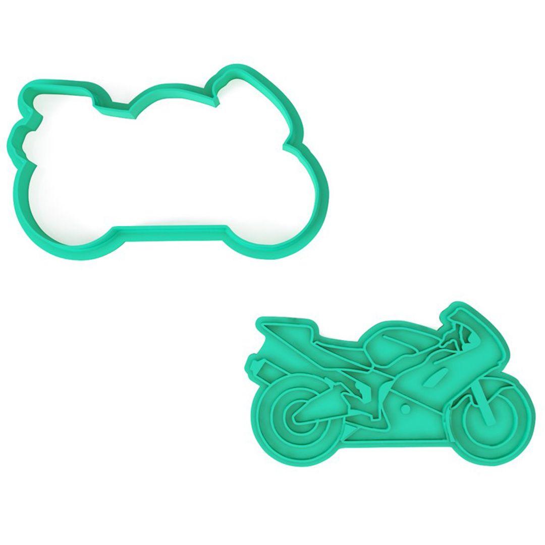 Форма для печенья Мотоцикл