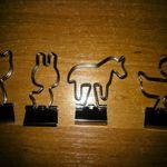 Зажимы для бумаги Животные (4 шт.) Отзыв