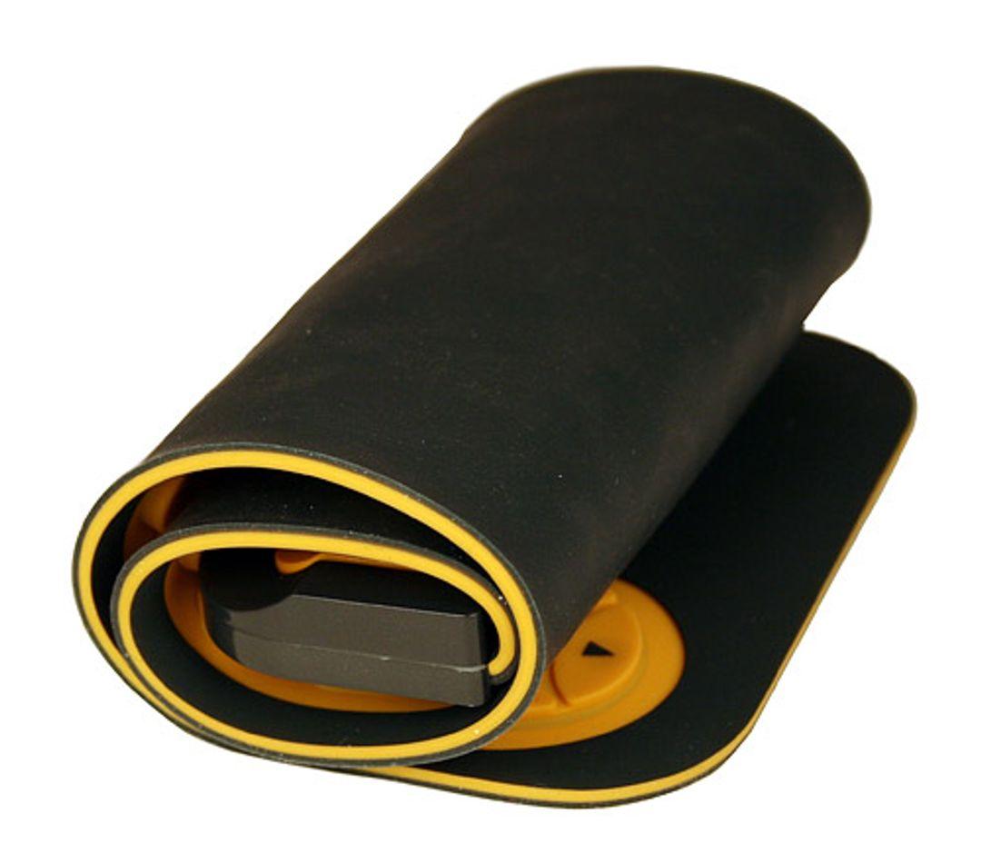 Гибкая резиновая клавиатура Желтая