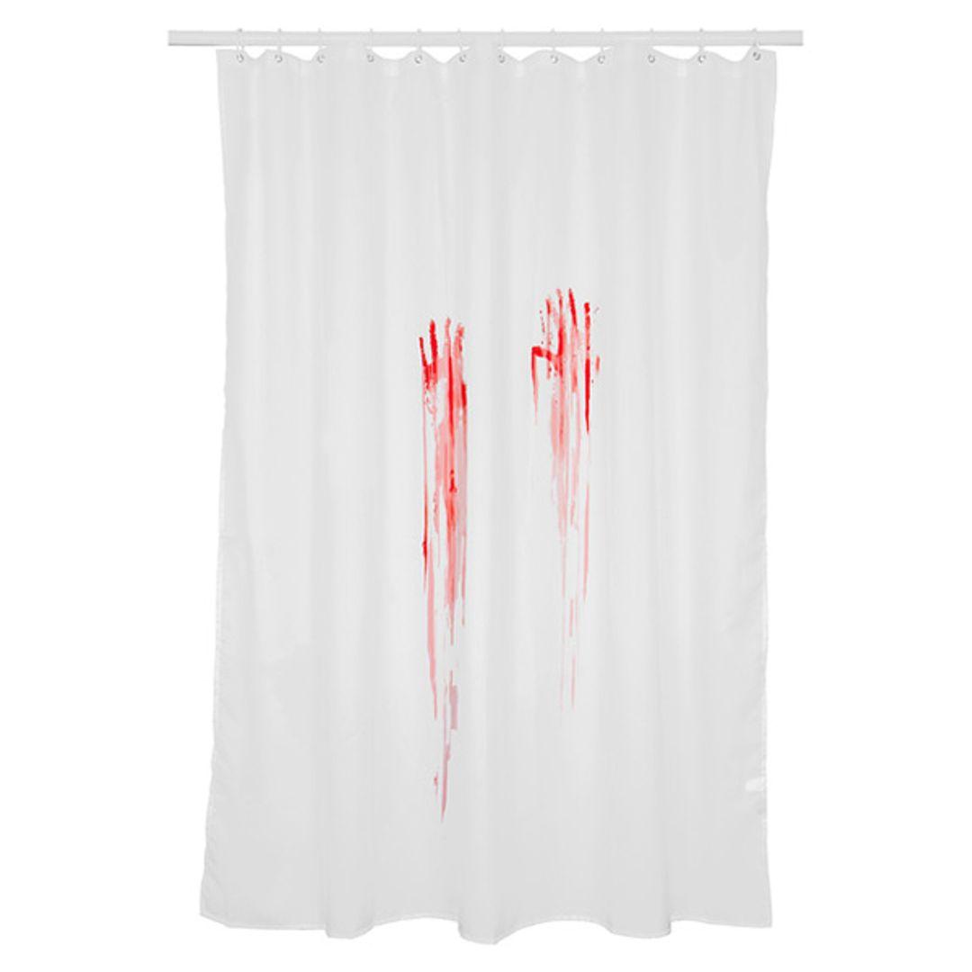 Кровавая занавеска для ванной