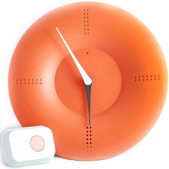 Часы Дверной звонок (Оранжевый)
