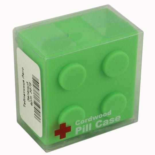 Таблетница Лего (Зеленая) Упаковка