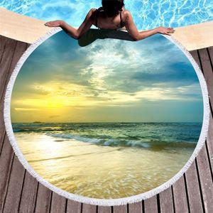 Пляжный коврик Море