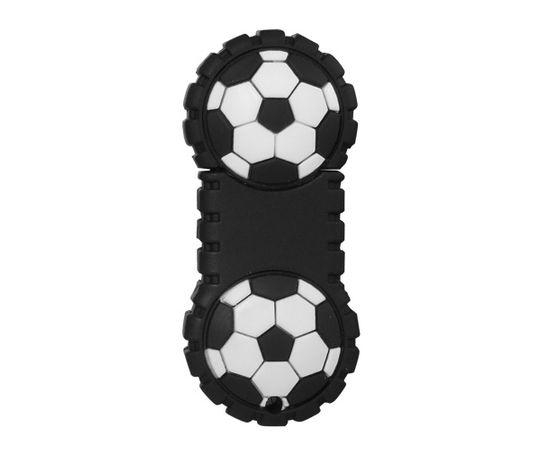 Флешка Футбольный мяч пополам 2 Гб