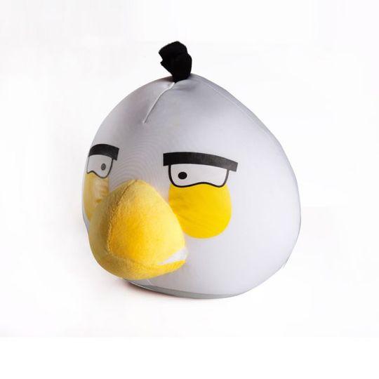 Игрушка Angry Birds Антистресс 20 см Белая птичка
