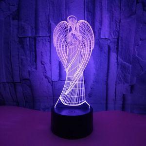 3D Лампа Ангел
