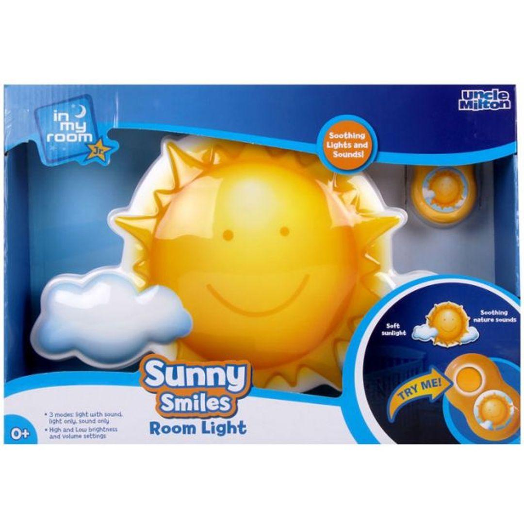 Ночник Солнышко с пультом