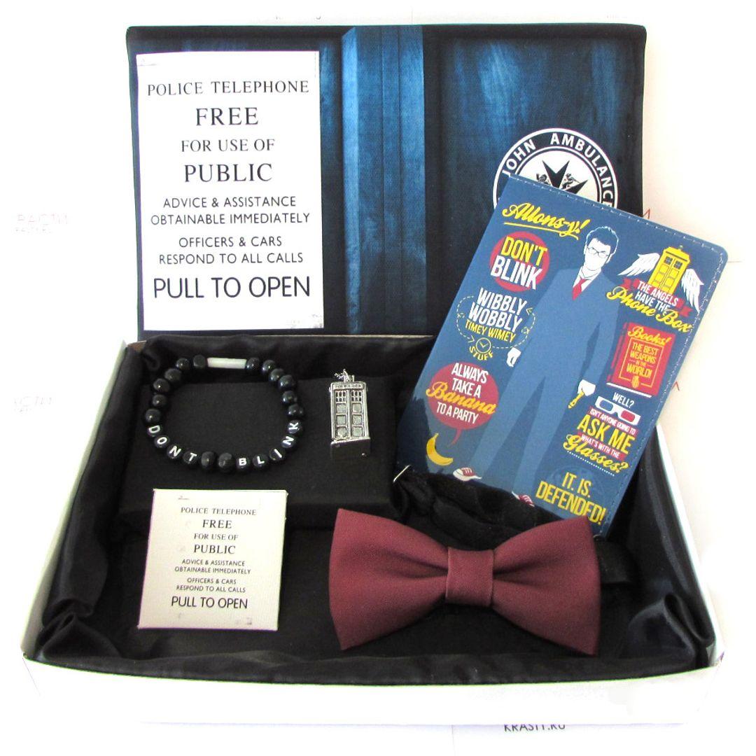 Подарочный набор Доктор Кто Doctor Who