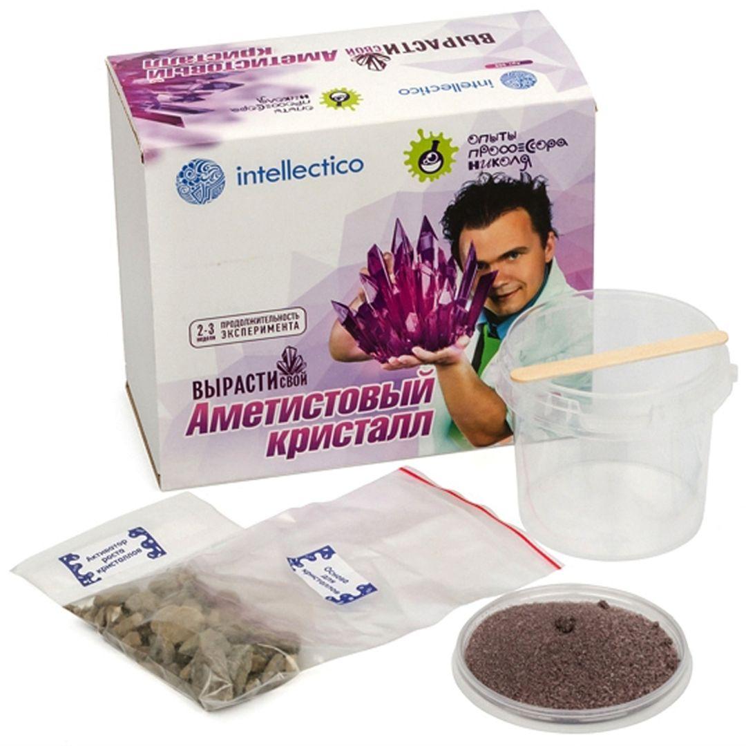 Набор для выращивания кристаллов Intellectico (Фиолетовый)