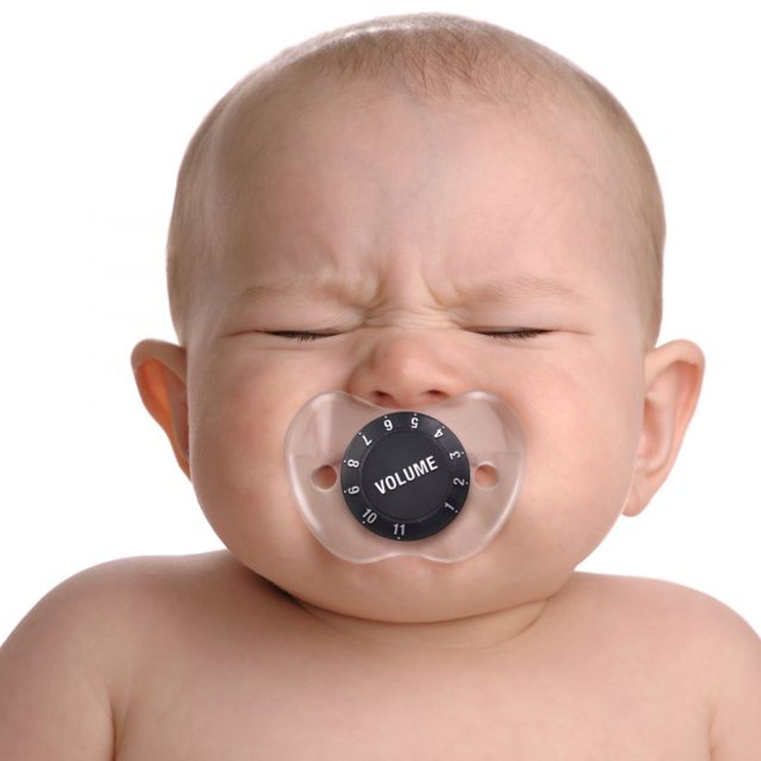 Соска-пустышка Регулятор громкости Chill, Baby