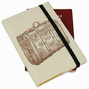 Обложка для паспорта Suitcase