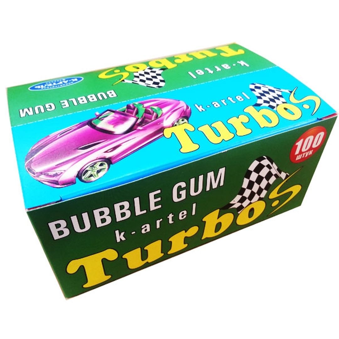 Жвачка Turbo-S (100 шт.)