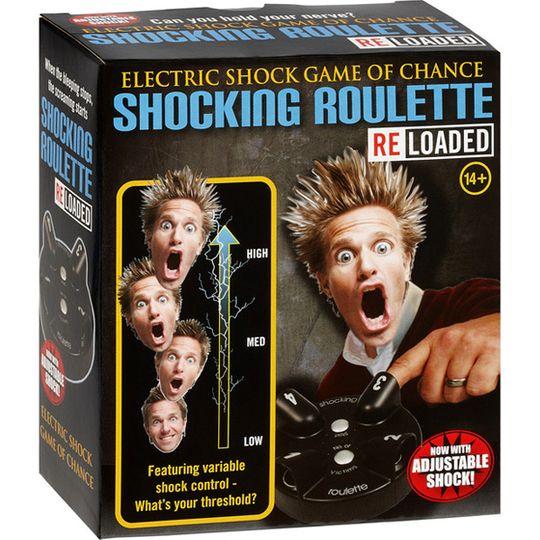 Электрошоковая Русская Рулетка Shocking Roulette