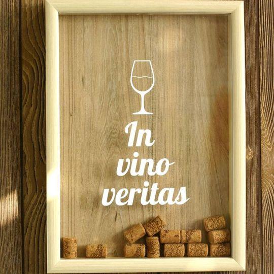 Копилка для винных пробок In Vino Veritas