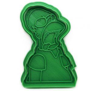 Форма для печенья Homer Simpson