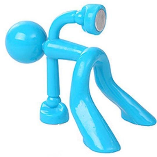 Держатель для ключей Магнитный человечек (Голубой)