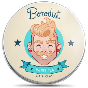 Глина для волос Borodist White Tea