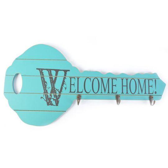 Ключница Ключ Винтаж Welcome Home