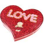 Мыло Бутоны роз с мягкой игрушкой Love
