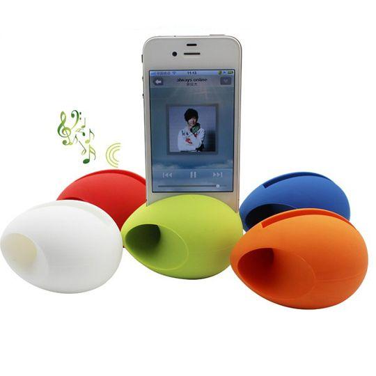 Держатель для iPhone с усилителем звука Яйцо