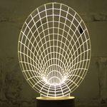 3D Лампа Черная дыра