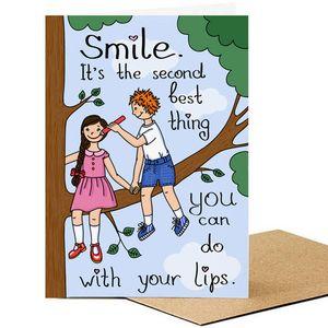 Открытка Smile