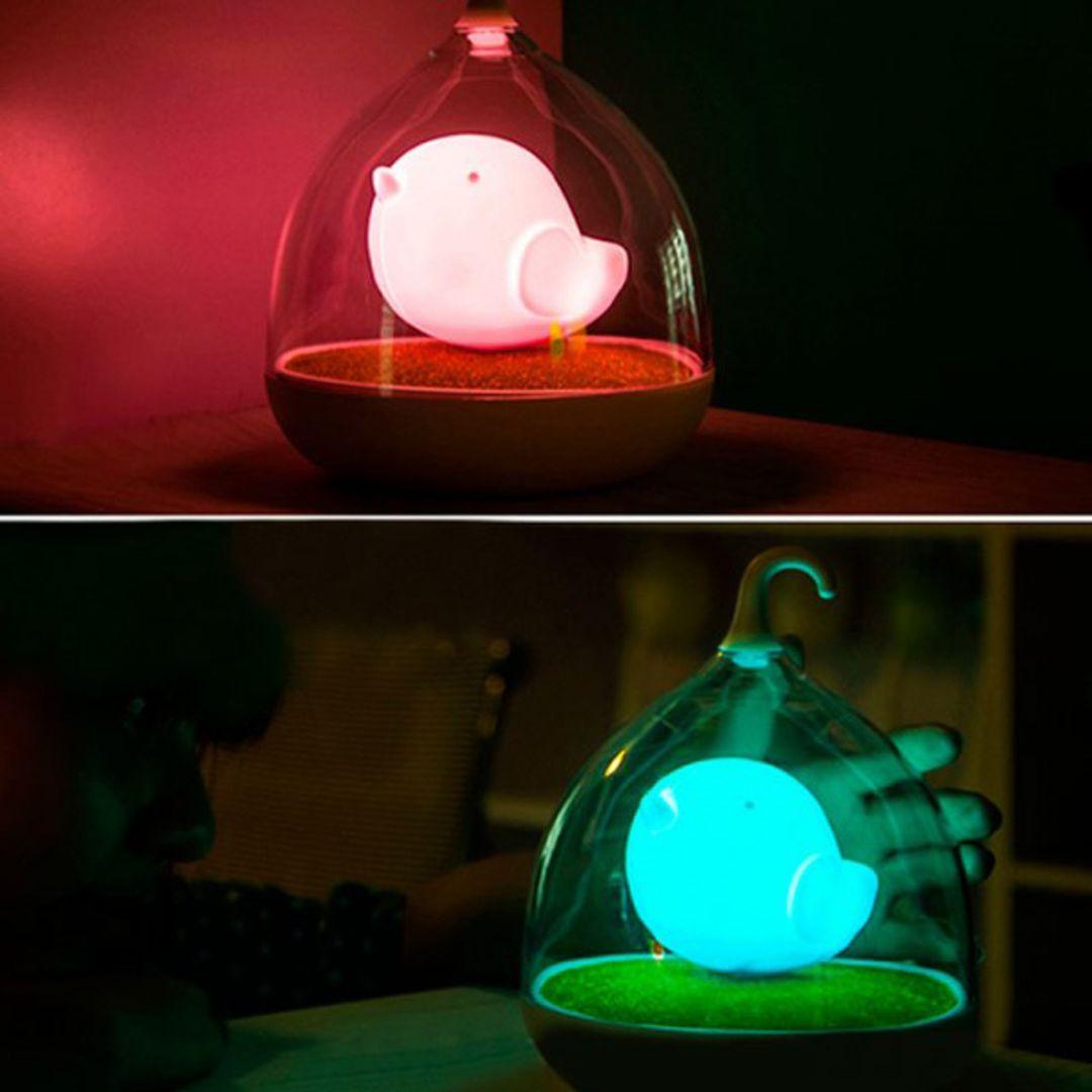 USB Лампа Птичка Разные цвета