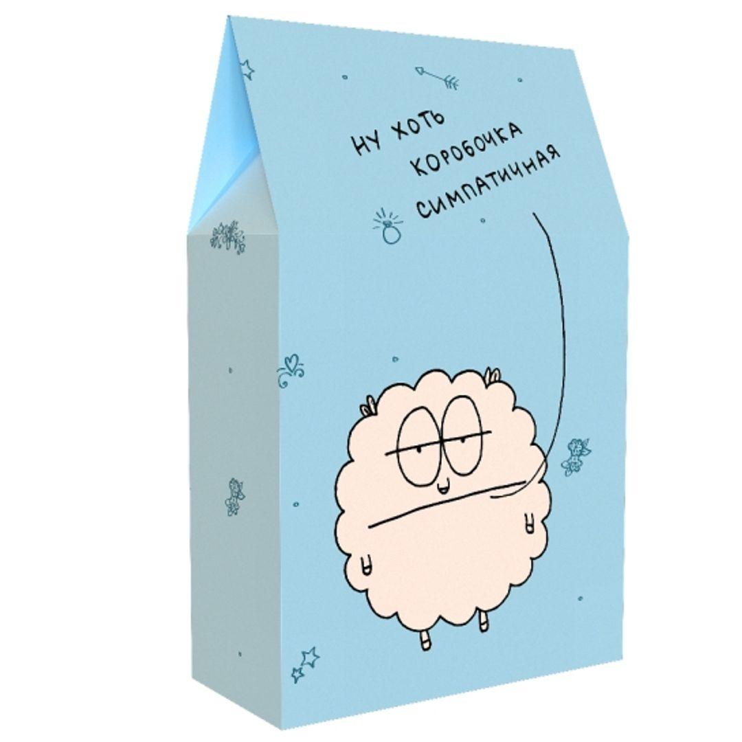 Подарочная коробка Ну хоть коробочка симпатичная