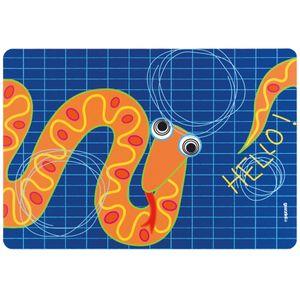 Коврик сервировочный Hello змея (детский)