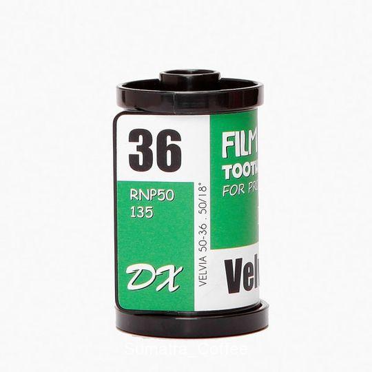 Баночка для зубочисток Фотопленка (Зеленая)