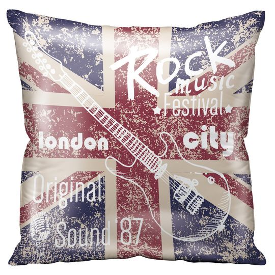 Подушка London Rock Music Festival