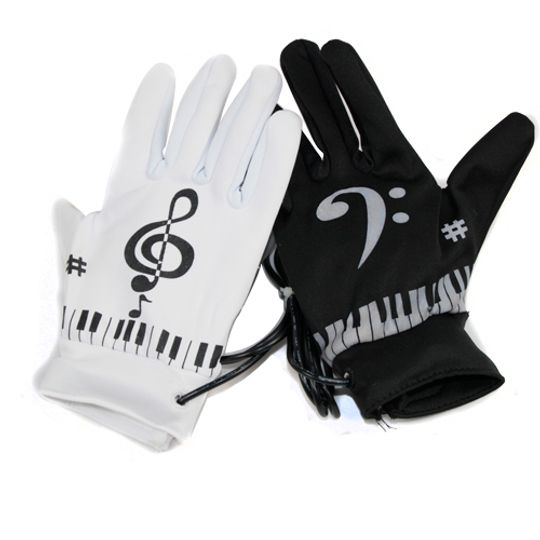 Перчатки Пианино
