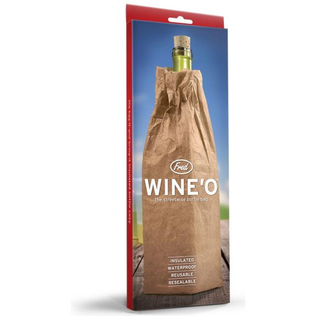 Пакет-термос для бутылки WineO