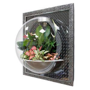Настенный флорариум Flandriss Черный багет 3D