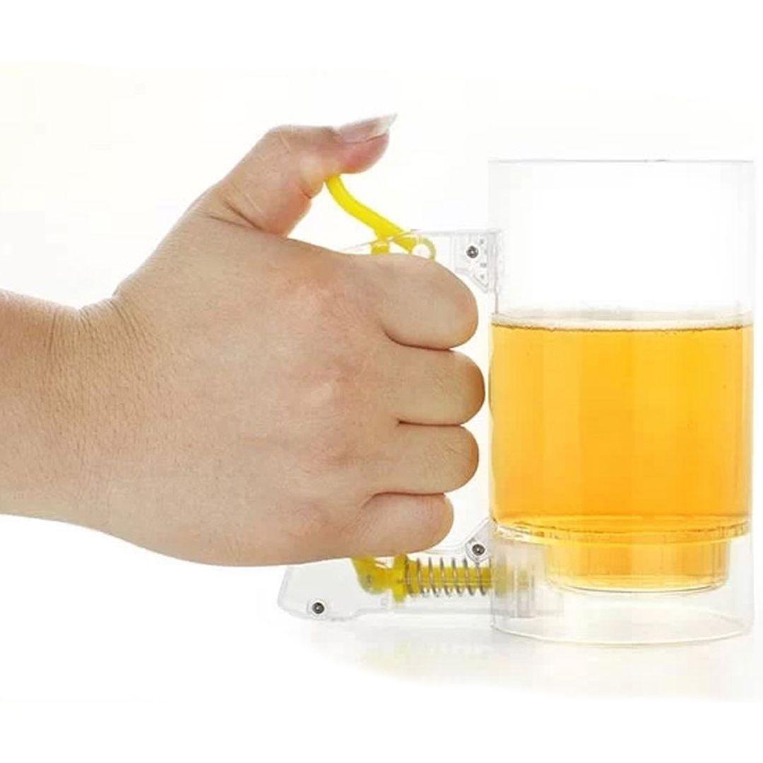 Пивная кружка Сделай пену Использование