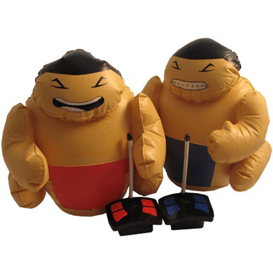 Радиоуправляемые надувные борцы сумо