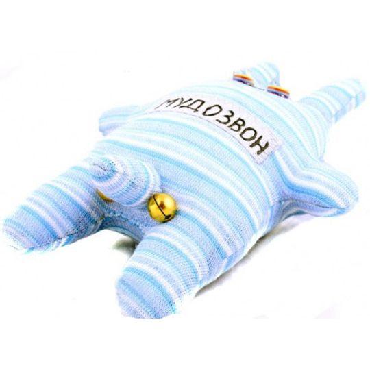 Игрушка Мудозвон голубой в подоску
