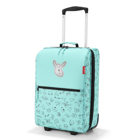 Чемодан детский Trolley XS Cats And Dogs (Мятный)