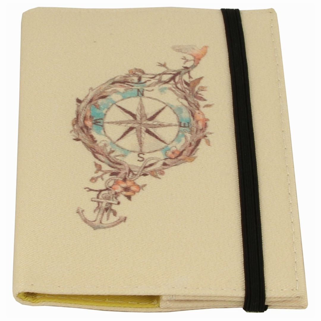 Обложка для паспорта Compass Фиксируется сверху резинкой