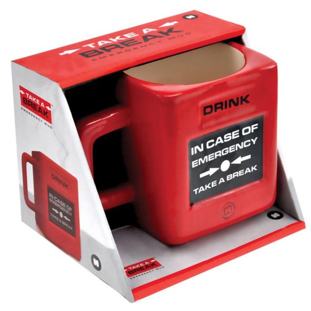 Кружка Take a break Emergency Mug