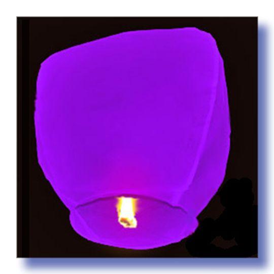 Летающий фонарик Фиолетовый