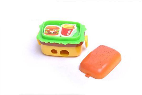 Точилка Гамбургер с ластиками