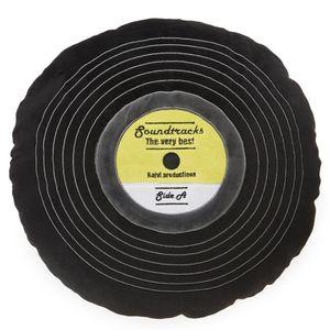 Подушка диванная Виниловая пластинка Soundtracks