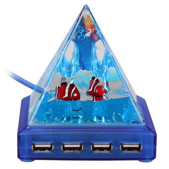 USB Хаб Пирамида с рыбками