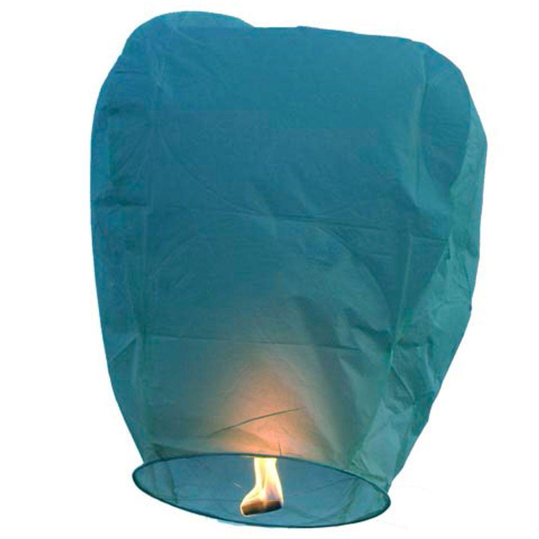 Летающий фонарик (Синий)