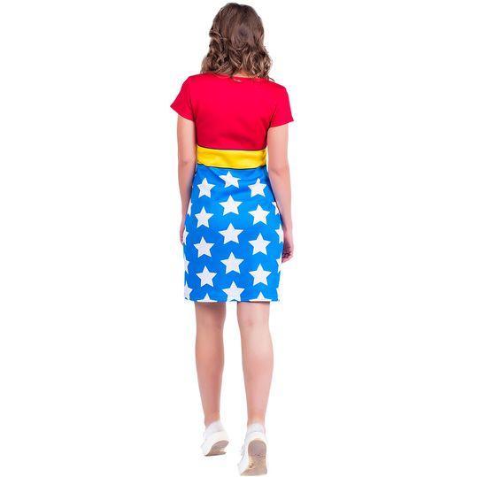 Платье Wonder Woman (Футляр) Вид сзади